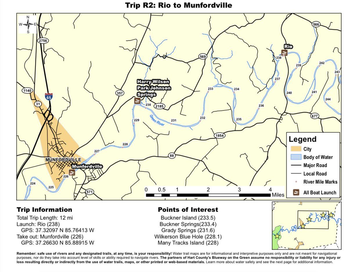 Rio to Munfordville